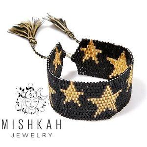 Just In⭐️Bohemian Star Seed Bead Tassel Bracelet
